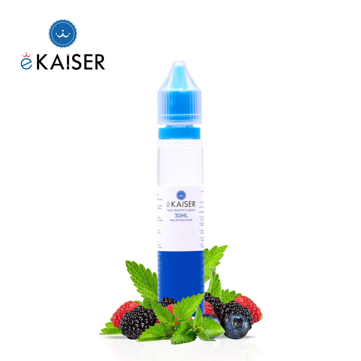 30ml Shortfill 0mg Berry Mint Eliquid