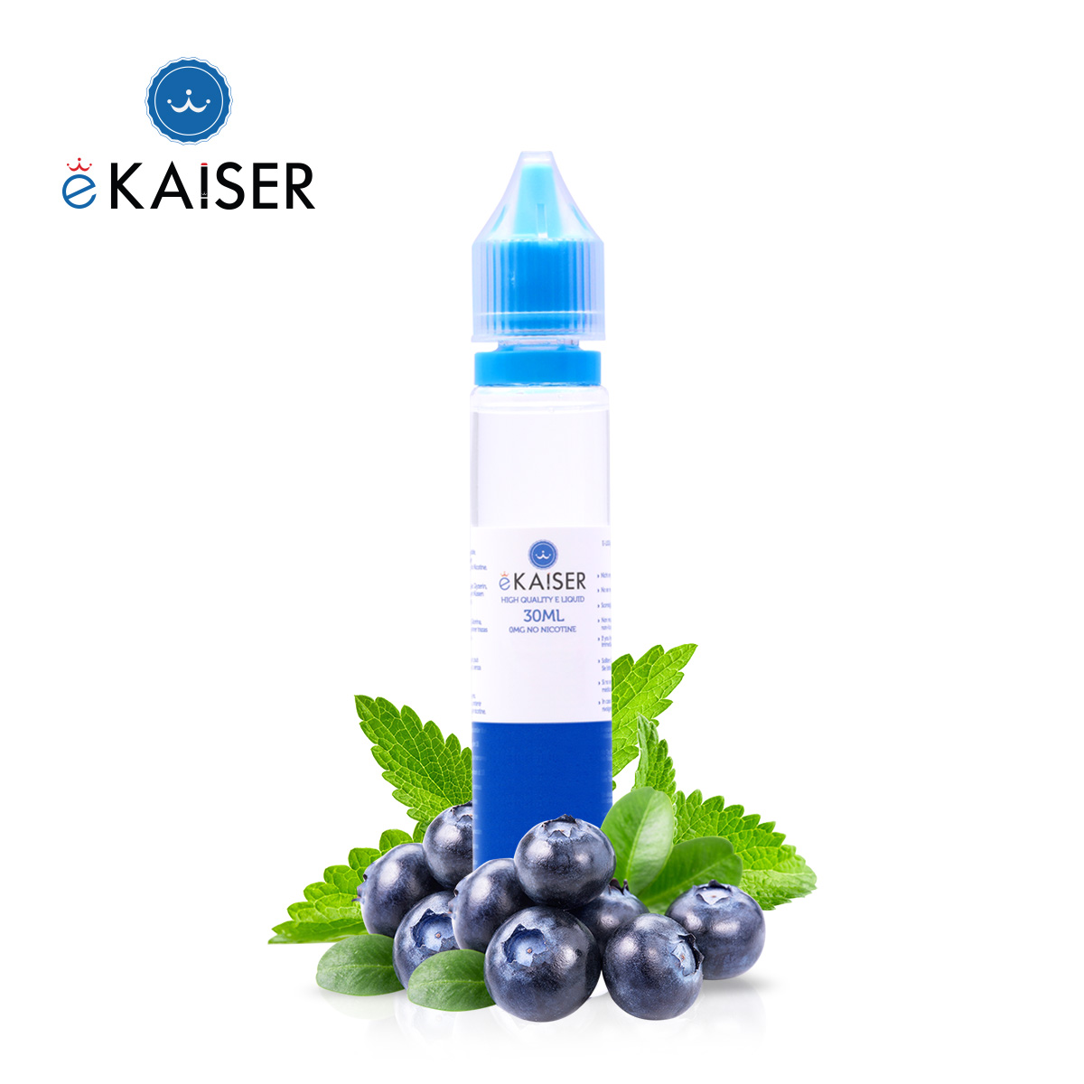 0mg Blueberry Mint Eliquid