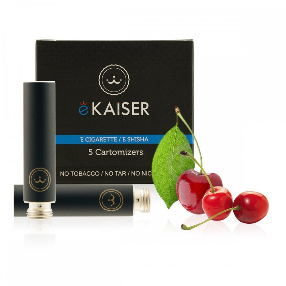 Ekaiser Cherry Black 5 pack Cartomizer V2