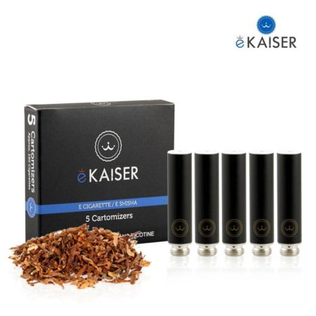 Ekaiser Classic Tobacco Black 5 pack Cartomizer V2