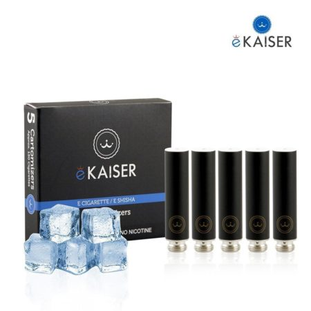 Ekaiser Menthol Black 5 pack Cartomizer V2