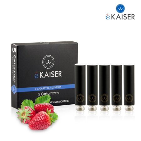 Ekaiser Strawberry Black 5 pack Cartomizer V2