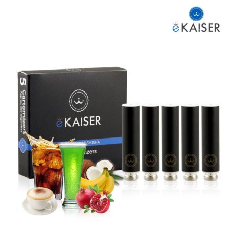 Ekaiser Variety Mix Black 5 pack Cartomizer V2