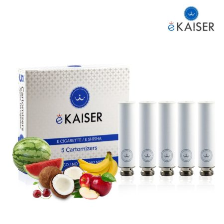 Ekaiser Fruit Mix White 5 pack Cartomizer V2